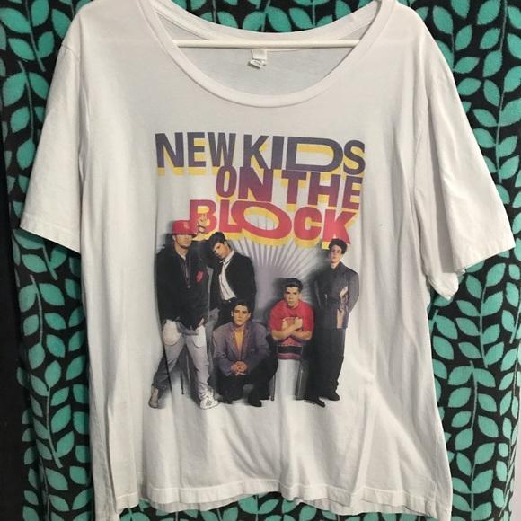 1db54aaef Tops | Nwot Nkotb New Kids On The Block Concert Tee | Poshmark